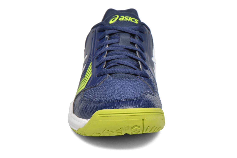 Sportschuhe Asics Gel-Dedicate 5 blau schuhe getragen