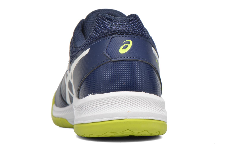 Sportschuhe Asics Gel-Dedicate 5 blau ansicht von rechts