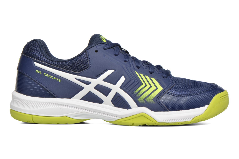 Sportschuhe Asics Gel-Dedicate 5 blau ansicht von hinten