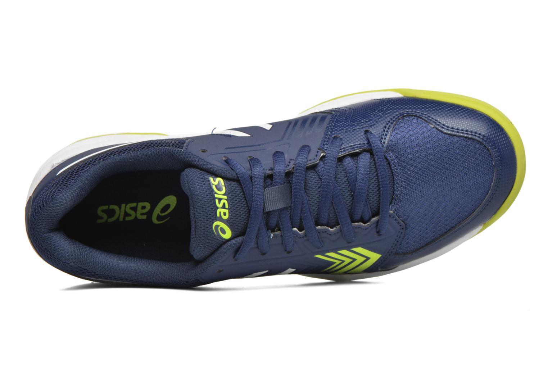 Sportschuhe Asics Gel-Dedicate 5 blau ansicht von links