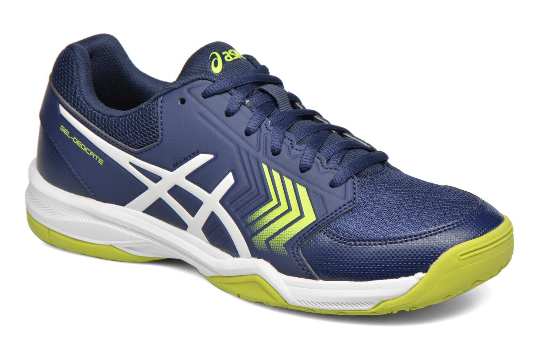 Sport shoes Asics Gel-Dedicate 5 Blue detailed view/ Pair view