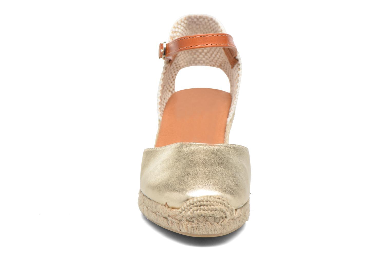 Espadrilles Maypol Lola- MGVQ Or et bronze vue portées chaussures