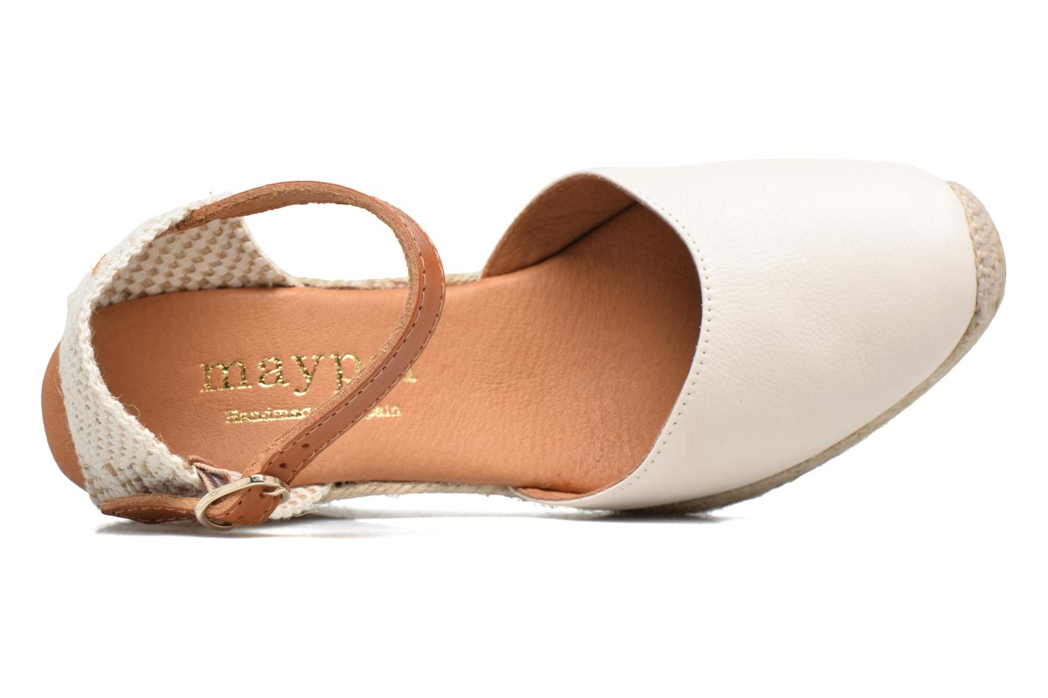 Espadrilles Maypol Nantes Beige view from the left