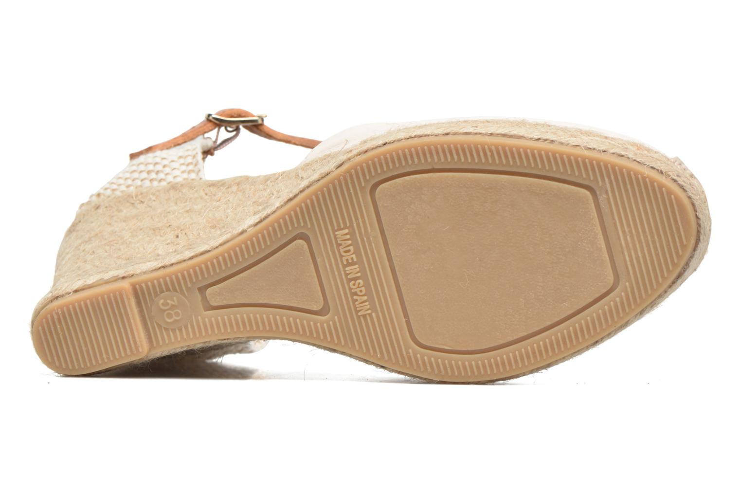 Espadrilles Maypol Nantes Beige view from above