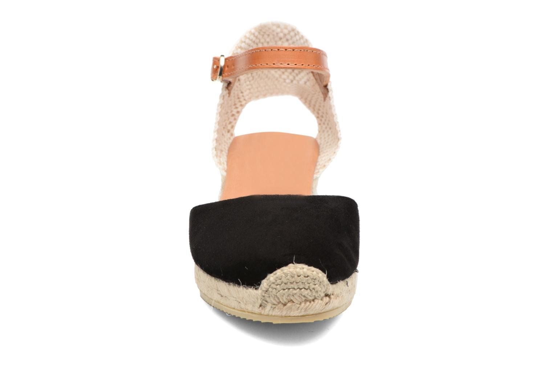 Espadrilles Maypol Macaret 2 Noir vue portées chaussures