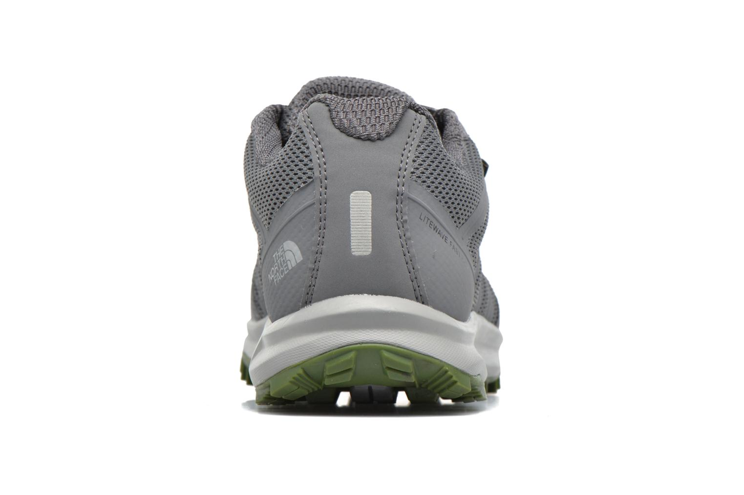 Chaussures de sport The North Face Litewave Fastpack GTX Gris vue droite