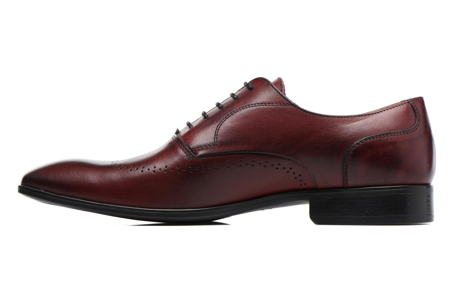 Veterschoenen Marvin&Co Romford Bordeaux voorkant