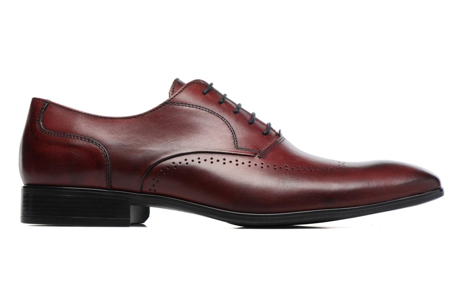 Veterschoenen Marvin&Co Romford Bordeaux achterkant