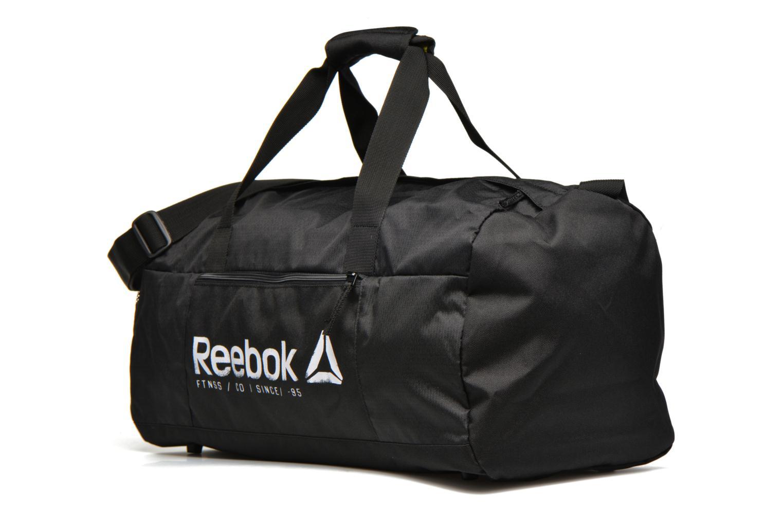 Sacs de sport Reebok FOUND M GRIP Noir vue portées chaussures