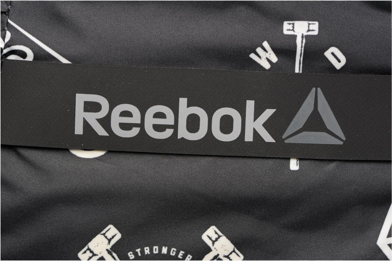 Sacs de sport Reebok OS W 30L GRAPHIC GRIP Noir vue gauche