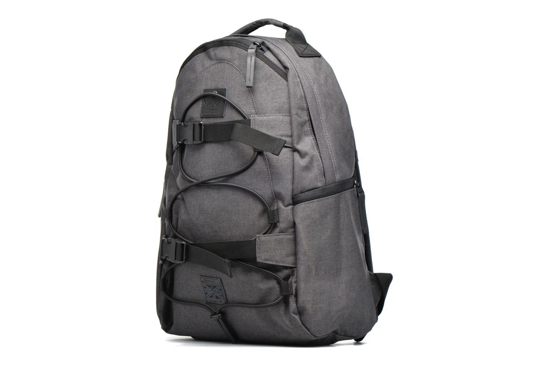 Sacs à dos Superdry Surplus goods backpack Gris vue portées chaussures