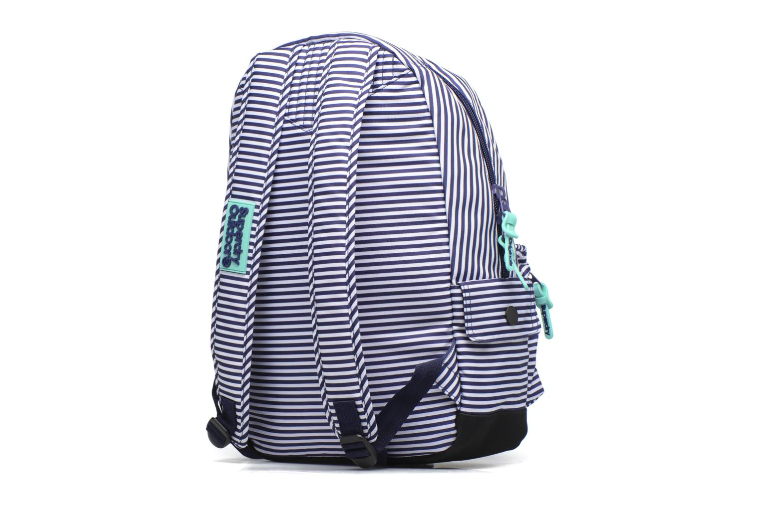 Print edition montana Navy Thin Stripe