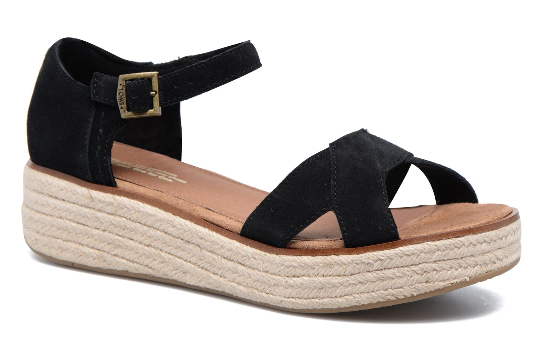Toms-sandales-sandales Noires Harper UO7vu
