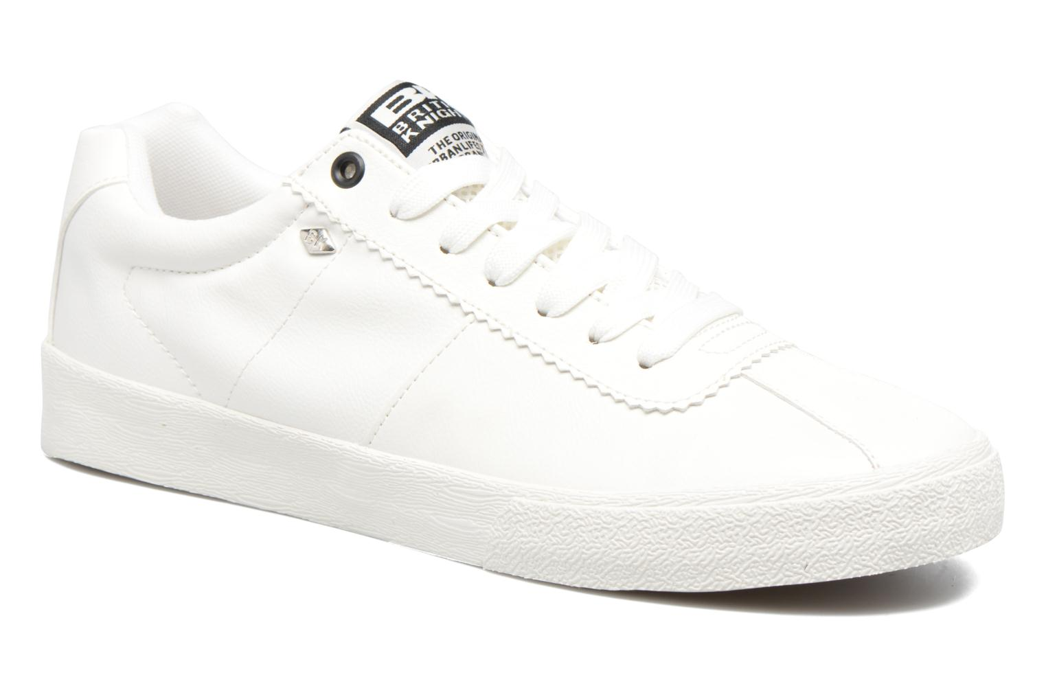 Baskets British Knights Solar Blanc vue détail/paire
