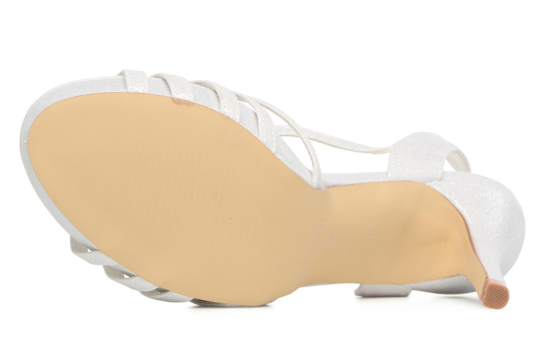 Sandales et nu-pieds Menbur JENNIFER Blanc vue haut