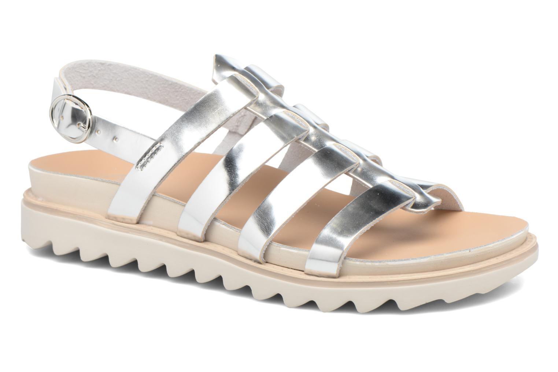 Sandales et nu-pieds Made by SARENZA Pastel Belle #13 Argent vue droite