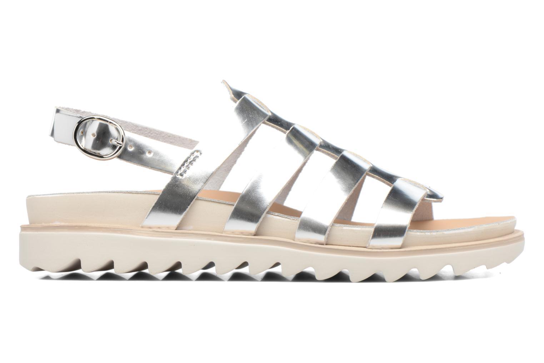 Sandales et nu-pieds Made by SARENZA Pastel Belle #13 Argent vue détail/paire