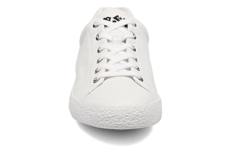Nicky Combo B Tumble Nappa White