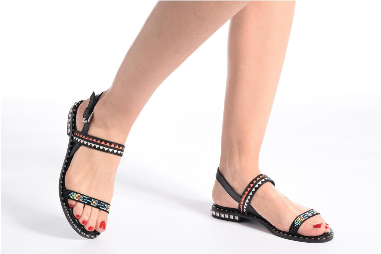 Sandales et nu-pieds Ash Paco Multicolore vue bas / vue portée sac