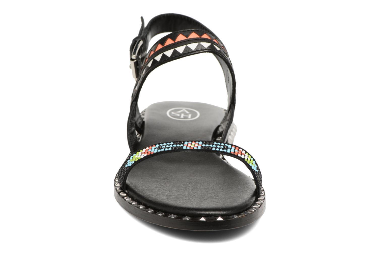 Sandales et nu-pieds Ash Paco Multicolore vue portées chaussures