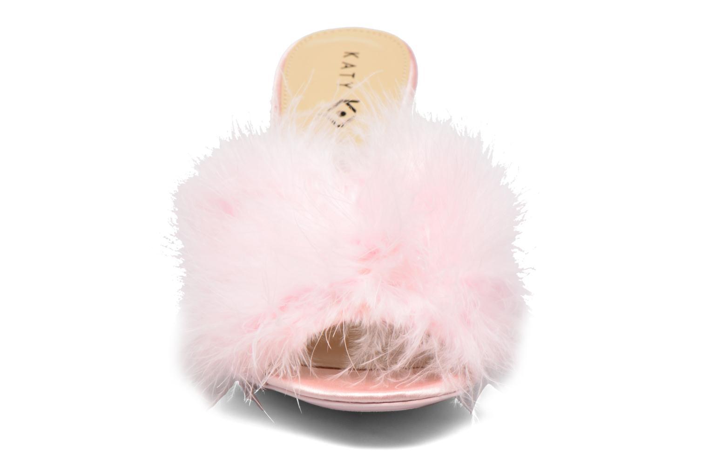 Mules et sabots Katy Perry The Bon-Bon Rose vue portées chaussures