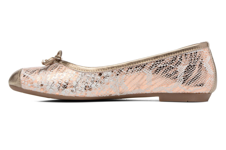 Ballerina's Coco et abricot Belline 4 Goud en brons voorkant