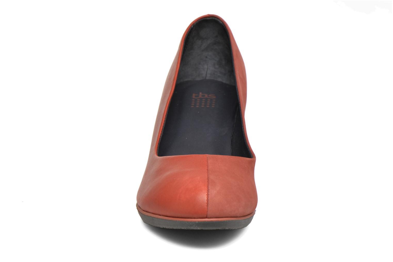 Escarpins TBS Kirsten Rouge vue portées chaussures