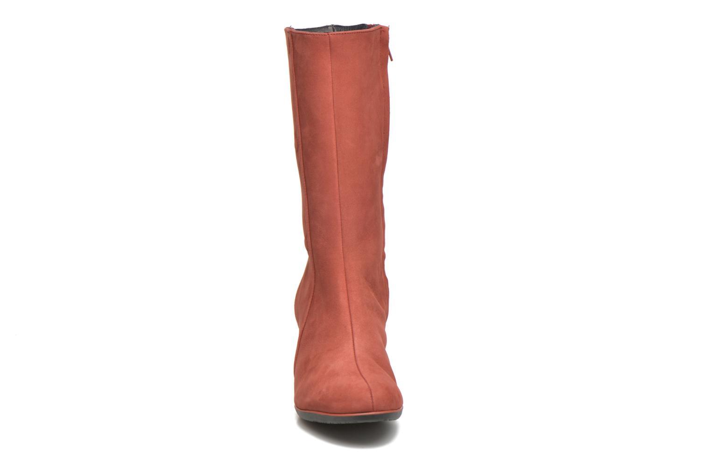 Bottes TBS Klaudia Rouge vue portées chaussures