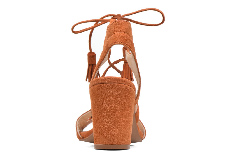 Sandales et nu-pieds Anaki Carilo Marron vue droite