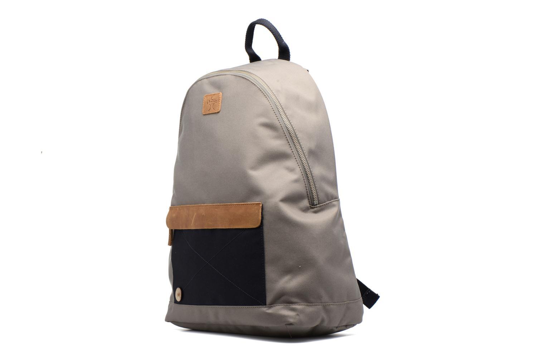 Sacs à dos Faguo Backpack Nylon 2 Beige vue portées chaussures