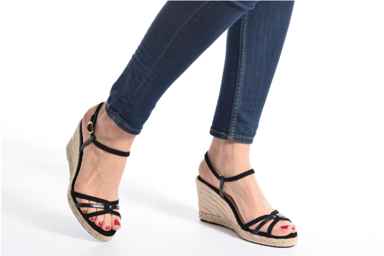 Sandales et nu-pieds Mellow Yellow Berlina Bleu vue bas / vue portée sac