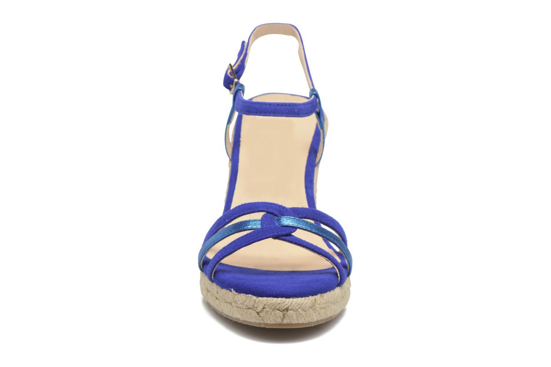 Sandales et nu-pieds Mellow Yellow Berlina Bleu vue portées chaussures