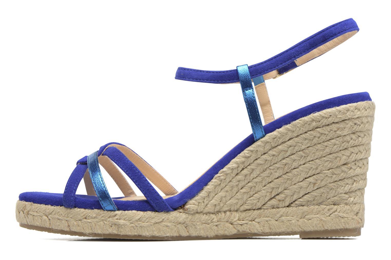 Sandales et nu-pieds Mellow Yellow Berlina Bleu vue face