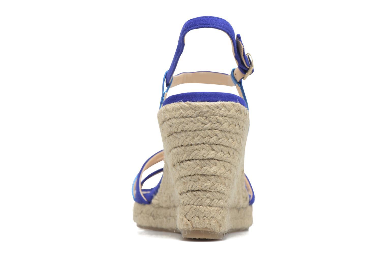 Sandales et nu-pieds Mellow Yellow Berlina Bleu vue droite