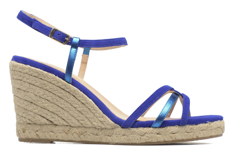 Sandales et nu-pieds Mellow Yellow Berlina Bleu vue derrière