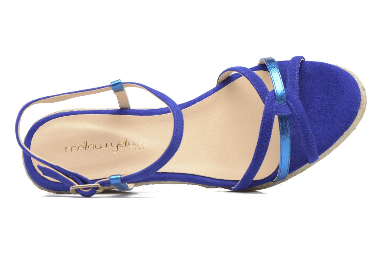 Sandales et nu-pieds Mellow Yellow Berlina Bleu vue gauche