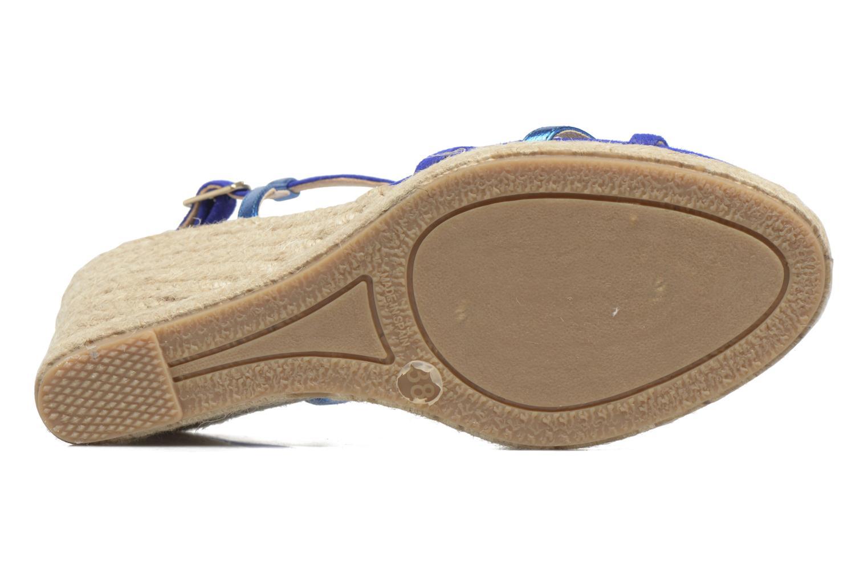 Sandales et nu-pieds Mellow Yellow Berlina Bleu vue haut