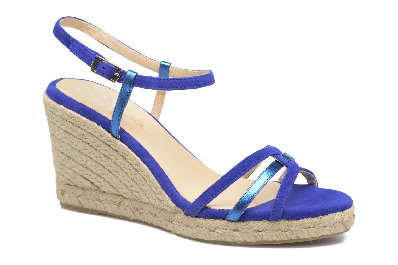 Sandales et nu-pieds Mellow Yellow Berlina Bleu vue détail/paire
