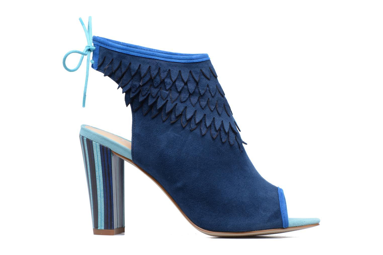 Sandales et nu-pieds Mellow Yellow Bravo Bleu vue derrière