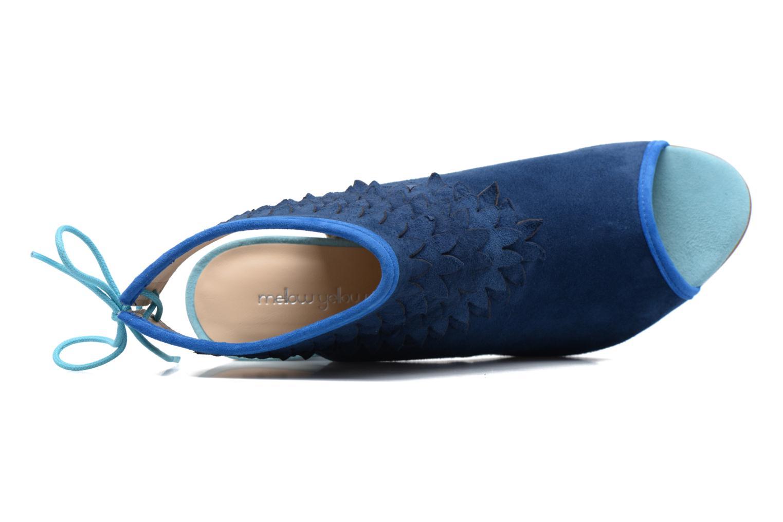 Sandales et nu-pieds Mellow Yellow Bravo Bleu vue gauche