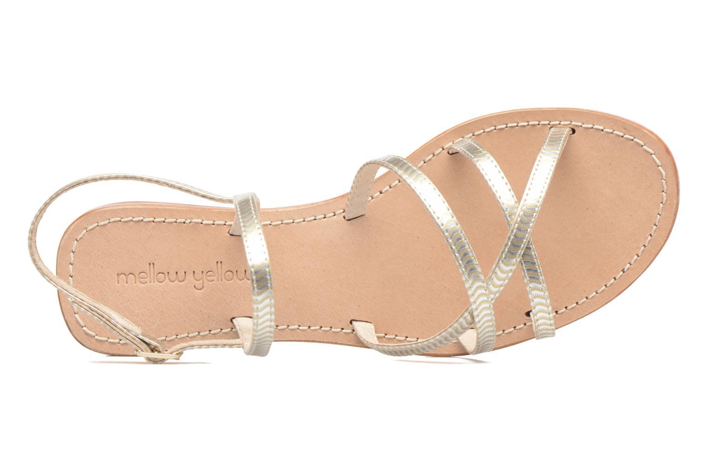 Sandales et nu-pieds Mellow Yellow Baloma Or et bronze vue gauche