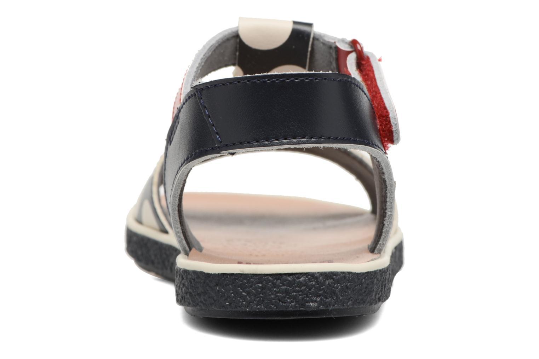 Sandaler Camper Miko 3 Blå Se fra højre