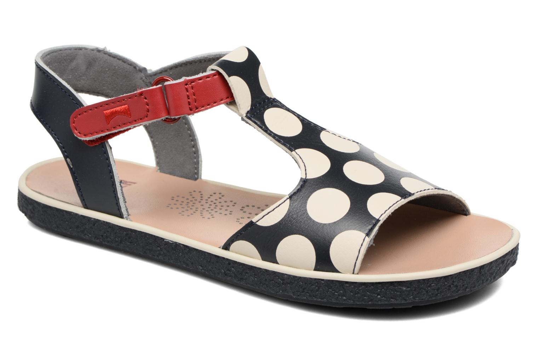 Sandaler Camper Miko 3 Blå detaljeret billede af skoene