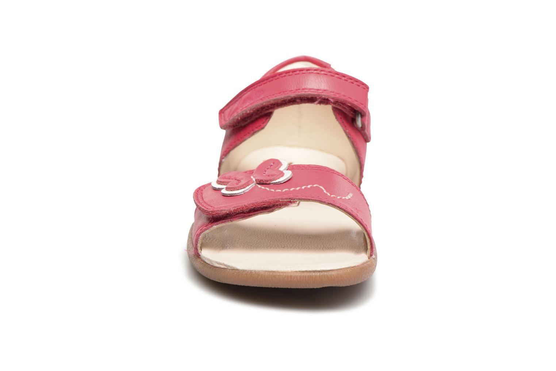 Sandales et nu-pieds Clarks Kiani Sun Fst Rose vue portées chaussures