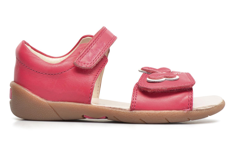Sandales et nu-pieds Clarks Kiani Sun Fst Rose vue derrière
