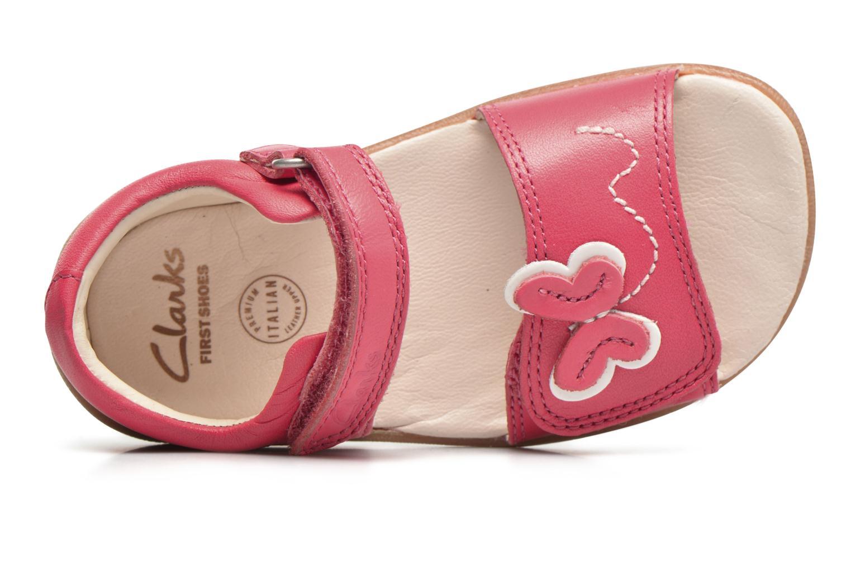 Sandales et nu-pieds Clarks Kiani Sun Fst Rose vue gauche