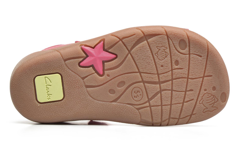 Sandales et nu-pieds Clarks Kiani Sun Fst Rose vue haut