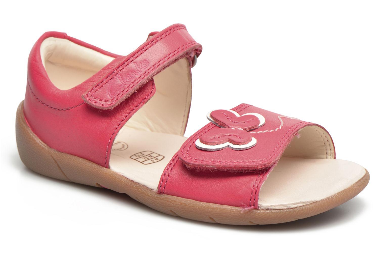 Sandales et nu-pieds Clarks Kiani Sun Fst Rose vue détail/paire