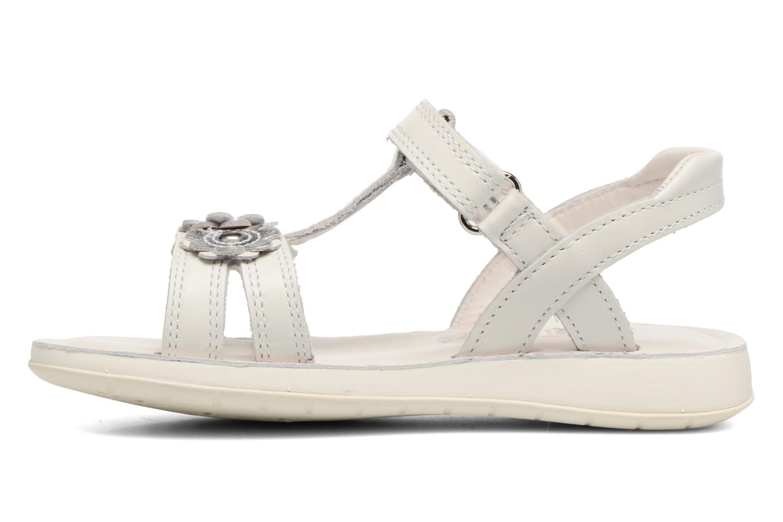 Sandali e scarpe aperte Clarks Sea Sally Bianco immagine frontale