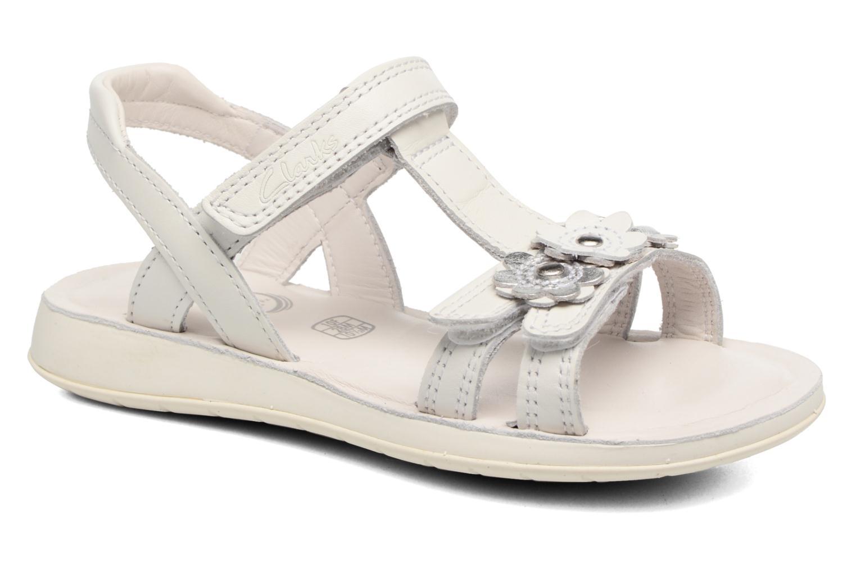 Sandali e scarpe aperte Clarks Sea Sally Bianco vedi dettaglio/paio